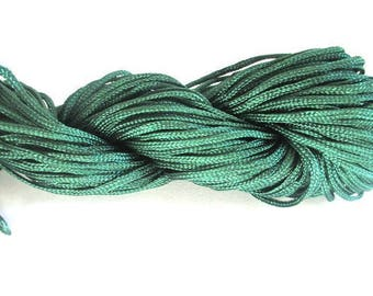 25 m thread dark green nylon 1 mm