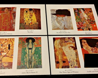 Art Stickers,Frida Kahlo,Gustav Klimt,Picasso, Kandinsky,Dali,Monet,Painting,Laptop Stickers,Gifts for Kids, Gifts for Artists, Planners
