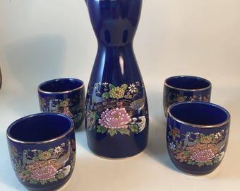 Vintage Asahi Saki Set Made in Japan