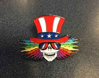 Grateful Dead Hat Pin