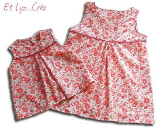 Made to order * Duo mother/daughter liberty blouses