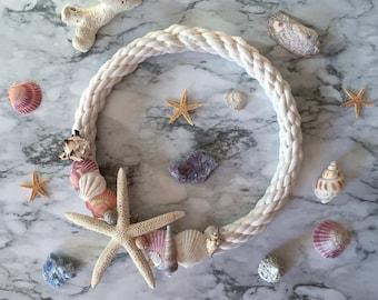 Seashell- Starfish Beach Wreath