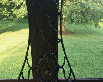 Antique Sewing Table Leg