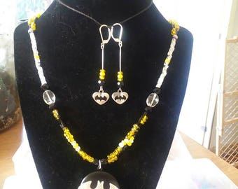 Batmat jewelry set
