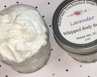 Whipped Body Butter, Whipped Body Lotion, Lavender Body Butter Cream, Thick Lotion, Whipped Shea Butter, Kokum Butter,