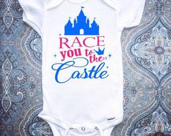 Disney Baby Onesie, First Disney Trip, Baby Girl Clothing, Baby Boy Clothing