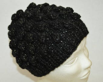 Hat with Bobbles