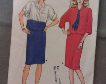 Butterick Pattern Size 8-10-12 No. 3207