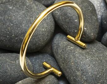 FREE SHIPPING-  Brass Bracelet