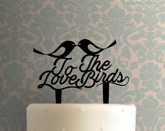 To The Love Birds Cake Topper 100