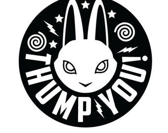 Thump You! Rabbit Decal