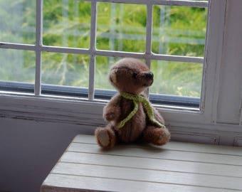 Handmade Teddy Bear 7,5 cm for Pullip Blythe Momoko Barbie BJD Lati