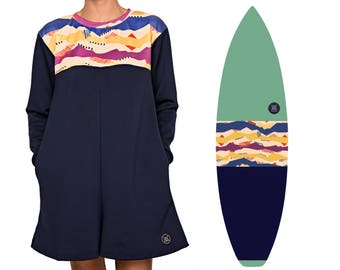 NEW IN | Volcan-Oh | Surfboard Sock & Winter Playsuit Bundle | Free Pocket + Nose Padding Add-ons