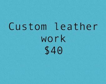Custom Leather Work 40