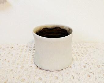White Ceramic Sake Cup / Sake Mug / Ceramic Cup