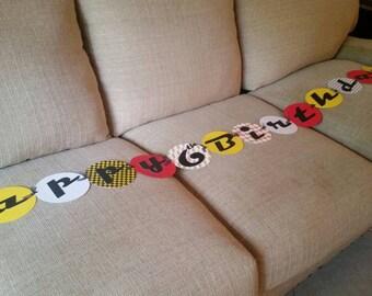 Pixar Cars Banner