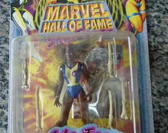 Wolfsbane Action figure 1997 Toy Biz Marvel Hall of Fame Series