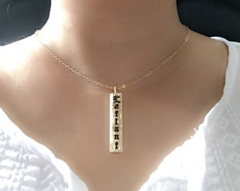 8mm gold filled Hawaiian necklace.