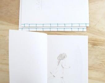 handmade illustrated little book