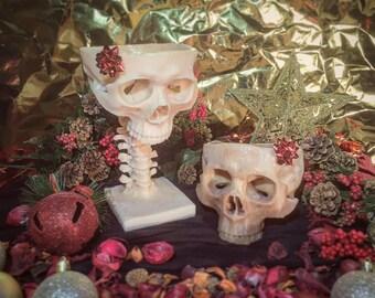 Skull Bowl & Goblet Bundle