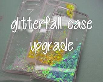 ADD ON: Glitter fall case