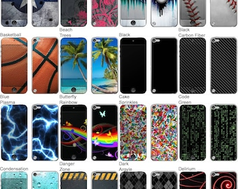 Choose Any 1 Vinyl Decal/Sticker/Skin Design for the Apple iPod Touch 5th Generation - iOS Tablet