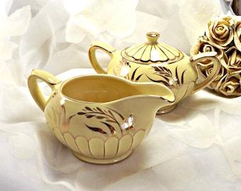 Sadler Creamer and Sugar Bowl, Made in England, Vintage Kitchen, Mid Century Sadler Cream and Sugar Set