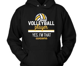 Volleyball Player hoodie. Cute and funny gift idea