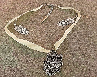 OWL Choker necklace