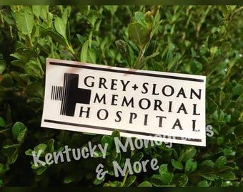 Grey Sloan Memorial Hospital Decal