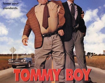 Back to School Sale: TOMMY BOY Movie Poster Chris Farley David Spade SNL