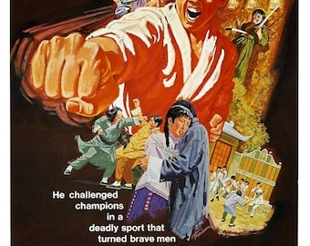 Back to School Sale: The Invincible Boxer movie POSTER (1973) Kung-Fu