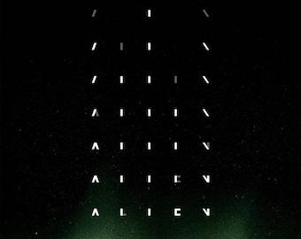 Back to School Sale: Alien 1979 Fantasy/Sci Fi Movie POSTER Sigourney Weaver Ridley Scott