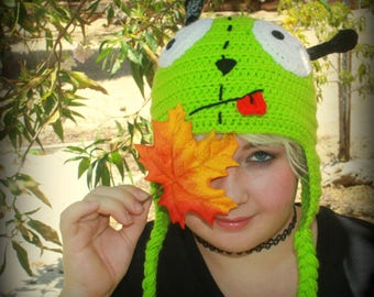 Invader Zim Gir Hat// Crochet Gir Hat