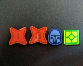 Star Wars: Destiny - Acrylic Tokens