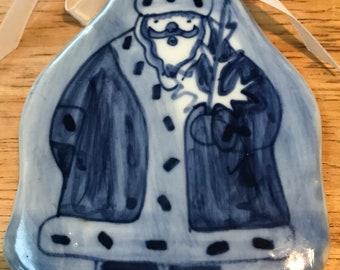 Vintage Hand Painted Ceramic Santa Claus Decoration