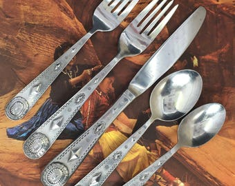 Wallace Taos Stainless 5 piece Place Setting