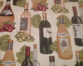 Robert Kaufman Wine Fabric  1 Yard Cotton