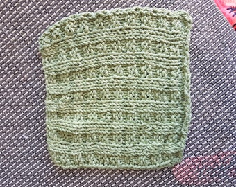 Handknitted wash/dishcloth