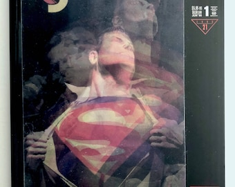 Superman Forever Comic 1, Magic Motion Cover by Alex Ross, Vintage DC Comics, Collectible Superman Comic, Man of Steel