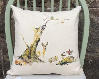 Forest Scene Cushions
