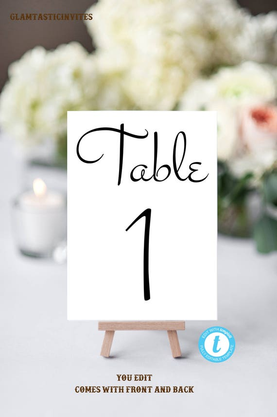 table number template wedding table seating template bridal head