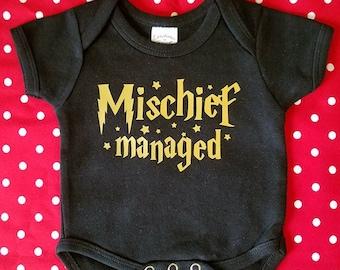 Mischief Managed Onesie