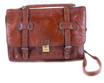 Dark Brown 90's Office Bag/Work Bag