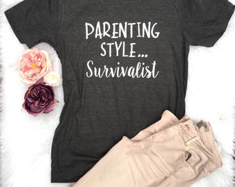 Cute shirt, Trendy shirt, Mom of toddlers tee , Funny shirt, Trendy mom shirt, Funny Mom Shirt, New Mom Gift, Gift for Mom, Mothers Day Gift