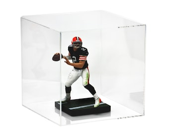 "Versatile Acrylic Display Case, Cube, Dust Cover or Riser 8"" x 8"" x 8"" (A059-CDS)"