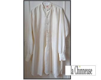 VINTAGE silk shirt / Vintage Silk Shirt / Collectibles / Gift for him.