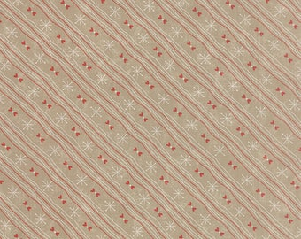 Moda SWEETNESS Quilt Fabric 1/2 Yard By Sandy Gervais - Bunny Brown 17857 13