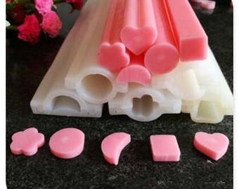 32cm star moon flower soap molds silicone molds baking tools crafts tools Tube mold hot sale