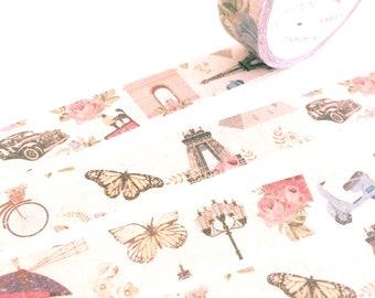 Shabby French Paris chic decoration washi tape